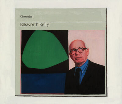 Hugh Mendes, 'Obituary: Ellsworth Kelly', 2016