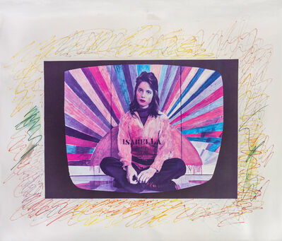 Franco Angeli, 'Isabella', 1972