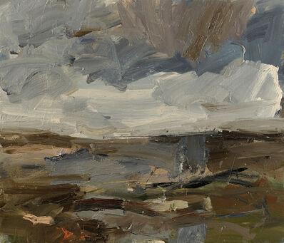 Louise Balaam, 'Low cloud, looking inland', 2017