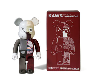 KAWS, 'BEARBRICK DISSECTED COMPANION 1 000 % (Brown)', 2008