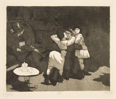 Otto Dix, 'Sailors in Antwerp'