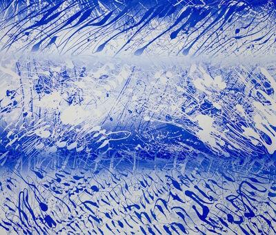 Xiao Bo, 'Sketches 2017 – Blue ', 2017