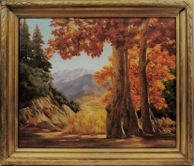 "Earl Graham Douglas, '""California Landscape""', ca. 1910"