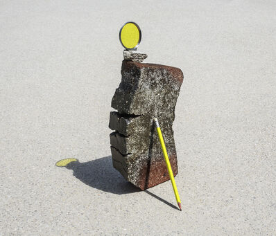 Ilán Rabchinskey, 'Clay, pencil, chromatic filter', 2017