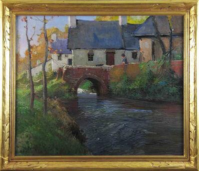 George Ames Aldrich, 'Mill Stream in Autumn', ca. 1910