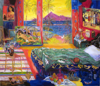 Damian Elwes, 'Gauguin's Studio in Tahiti in 1896', 2017