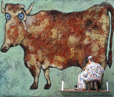 Stephen Hansen, 'The Cow with Subtle Nose (Dubuffet)', 2015