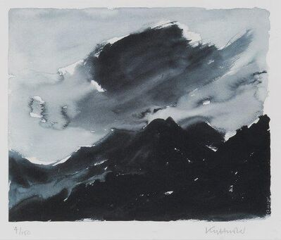 Kyffin Williams, 'Stormy Mountainscape'
