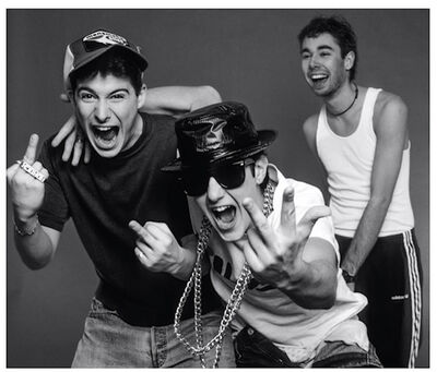 Lynn Goldsmith, 'Beastie Boys, Messing Around 1987', 1987