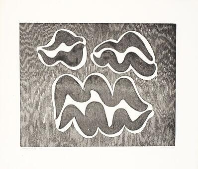Josef Albers, 'Adapted B', 1944