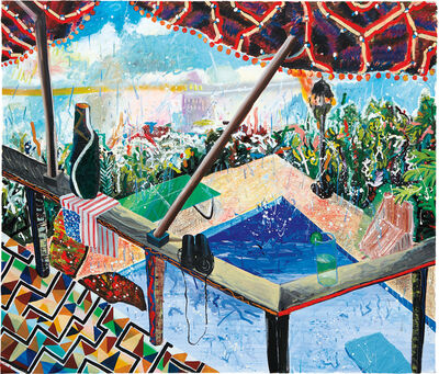 Shara Hughes, 'Chillax', 2011