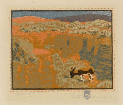 Gustave Baumann, 'Desert', Early 20th Century