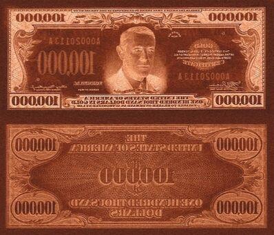 Rirkrit Tiravanija, 'untitled 2011 (print mo' money)', 2011