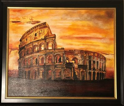 Catherine Colosimo, 'Coliseum of Rome - Original oil on canvas painting by Catherine Colosimo', 2017