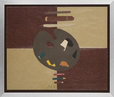 Eduardo Arroyo, 'NELL'ATELIER DE WINSTON CHURCHILL A CHETWELL', 1973