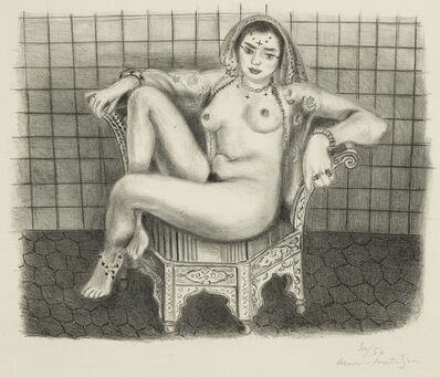 Henri Matisse, 'Jeune Hindoue (D. 508)', 1929