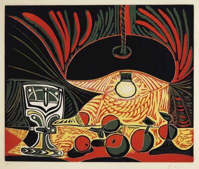 Pablo Picasso, 'Nature morte au verre sous la lampe', 1962