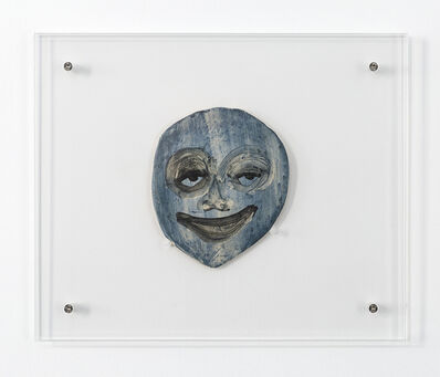 February James, 'Untitled Face (Blue)', 2019