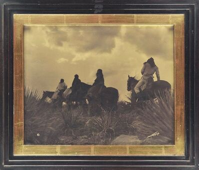 Edward Sheriff Curtis, 'Before the Storm (Apache)', 1906