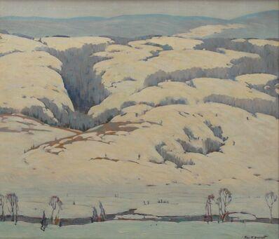Ross Braught, 'Blue Hills', ca. 1928
