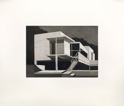 Andy Burgess, 'Eileen Gray's E-1027 House', 2016