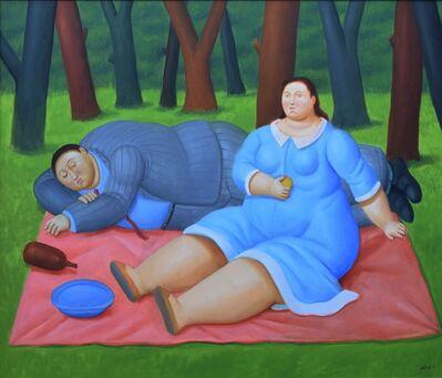 Fernando Botero, 'Colazione sull'erba', 2016