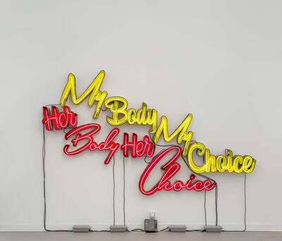 Andrea Bowers, 'My/Her Body My/Her Choice', 2016