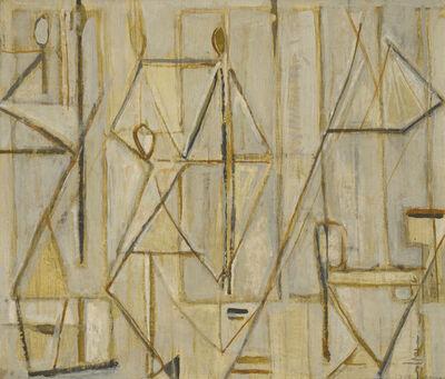 ARPAD SZENES, 'Banquet', 1953