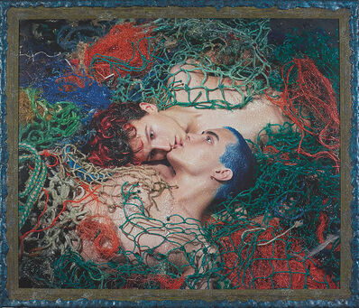 Pierre et Gilles, 'Miraculous Catch of Fish (Pierre & Filip)', 2019