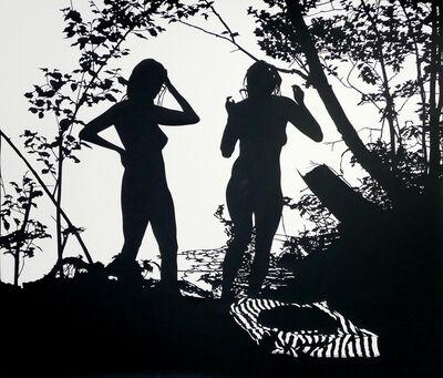Stefan Thiel, 'Zwei Mädchen', 2011