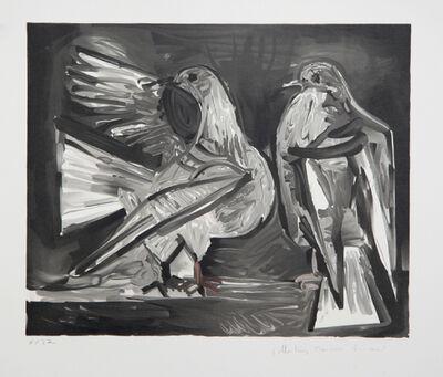 Pablo Picasso, 'Deux Pigeons', 1973-originally 1960