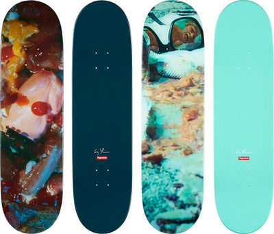 Cindy Sherman, 'Cindy Sherman Supreme Skateboard Decks (Complete Set of 2) ', 2017
