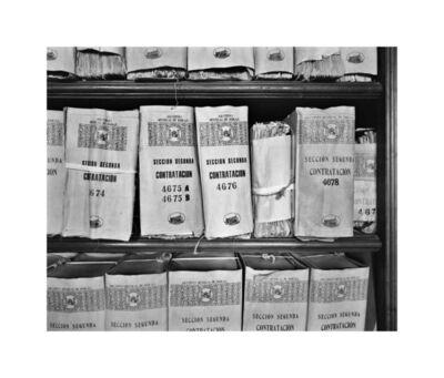 Ursula Schulz-Dornburg, 'Archivo de Indias en Seville, B06-N03', 2001/2020