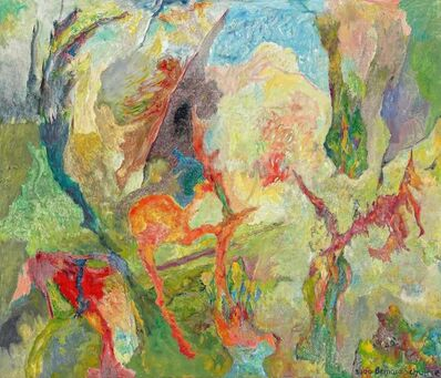 Bernard Schultze, 'Luft und Land', 2000