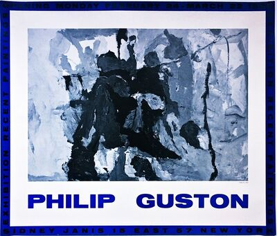 Philip Guston, 'Philip Guston Recent Paintings at Sidney Janis Gallery', 1958