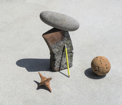 Ilán Rabchinskey, 'Clay, stone, pencil', 2017