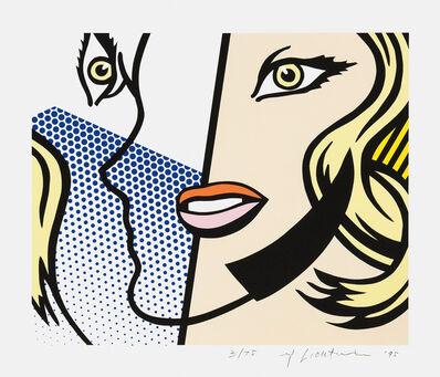 Roy Lichtenstein, 'Untitled Head (G. 1641, C. 292)', 1995