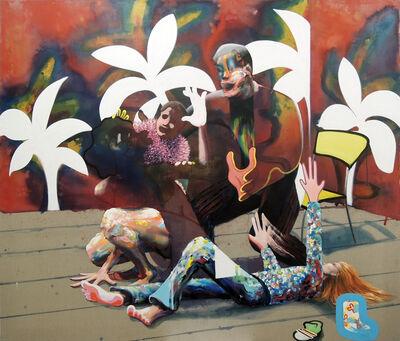 Thomas Agrinier, 'Portrait de l'artiste en famille', 2018