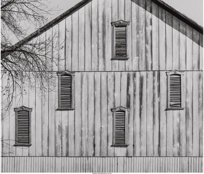 David Plowden, 'Barn - Sharpsburg, Maryland', 1966
