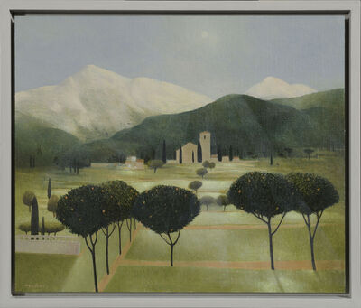 Tom Mabon, ' A Garden under the Apennines. Villa Collemandina', 2020