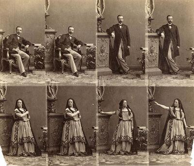 """André Adolphe-Eugené Disdéri, '""""T"""" with Cte. Camara Leine', ca. 1862"""