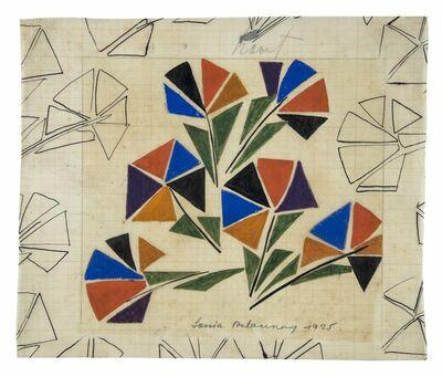 Sonia Delaunay, 'Untitled (Motif pour un tissu / Design for fabric)', 1925