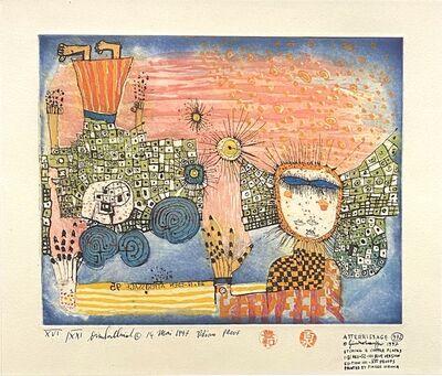 Friedensreich Hundertwasser, 'Die Landung (The Landing)', 1997