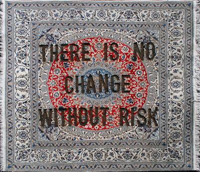 "Loredana Longo, 'Carpet#52 ""There Is No Change Without Risk""', 2020"