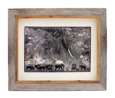 Peter Beard, 'Elephantine Memories', 1990