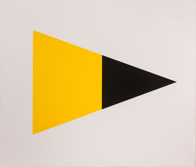 Ellsworth Kelly, 'Black/Yellow', 1970-1902