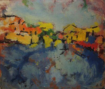 Aron Froimovich Bukh, 'Blue road', 1997
