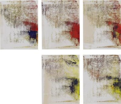 Israel Lund, 'Untitled (set of five works)', 2013