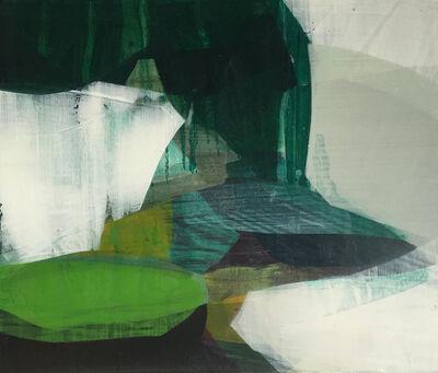Katherine Sandoz, '(color fields) outgoing tide', 2014-2015
