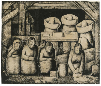 Alfredo Ramos Martínez, 'The Tamale Makers'